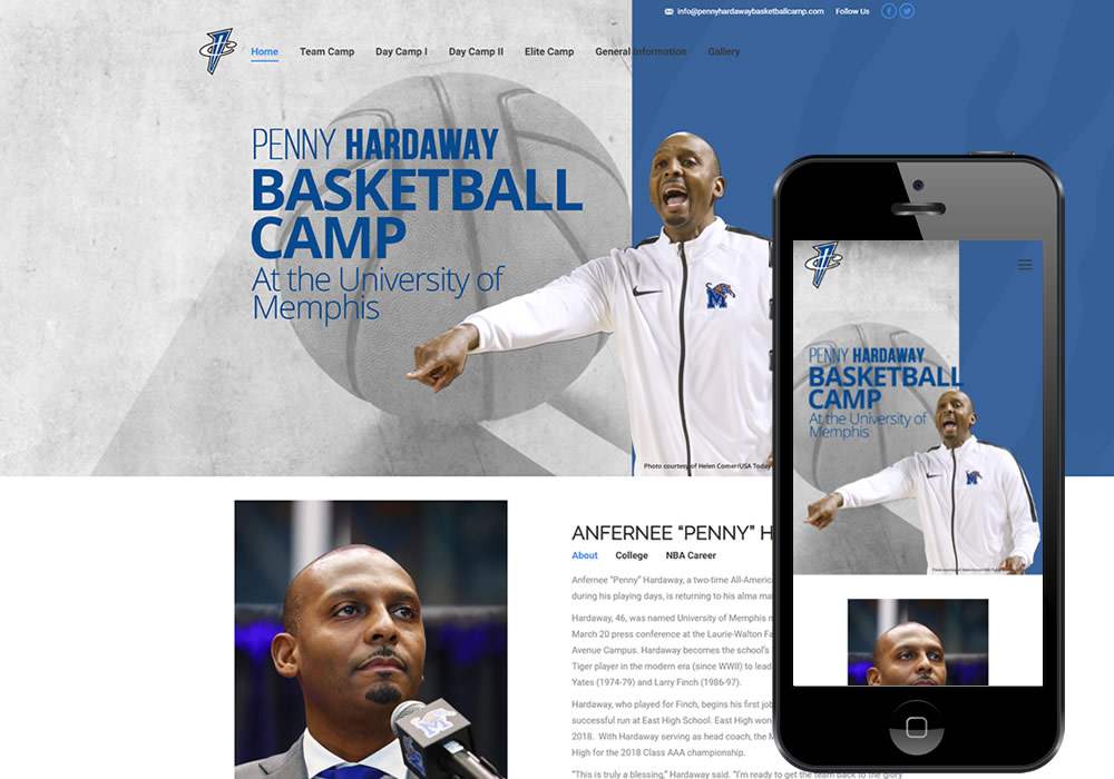Penny Hardaway Camp – Anointed Design